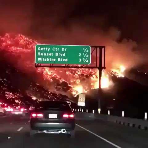 RT @RevoltTV: This is wild... blessings to our LA brothers & sisters affected by this #SkirballFire ???? https://t.co/aLqAbb9pKB