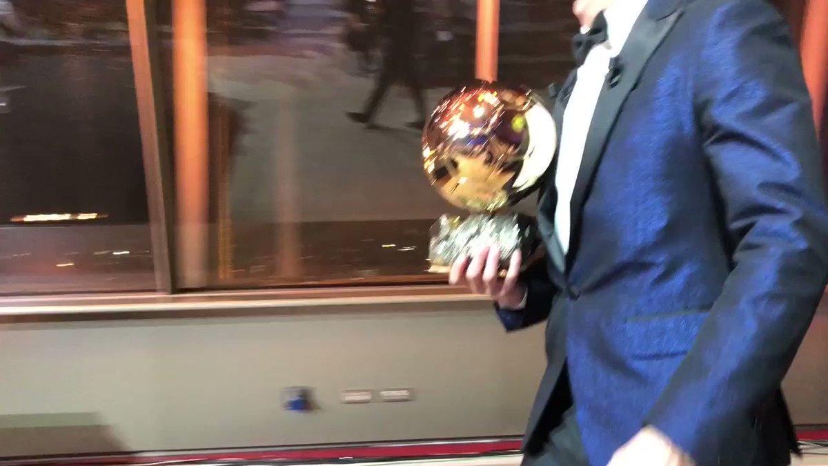 Cristiano Ronaldo Ballon d'Or @francefootball 2017 ! #BallondOr https://t.co/XbPS7anVRL