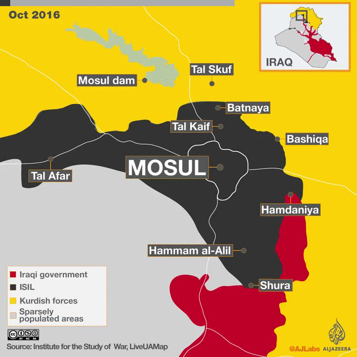 How ISIL captured and lost key cities in Syria and Iraq