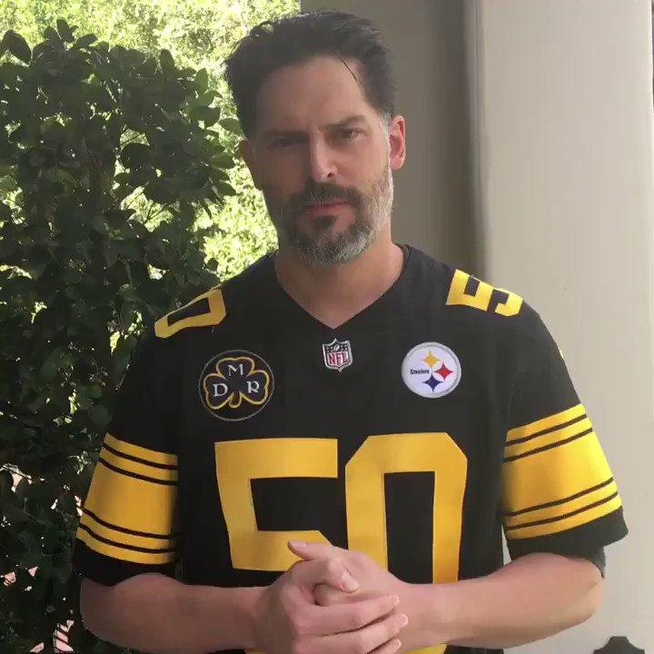 RT @JoeManganiello: #HereWeGo @RyanShazier  #SHALIEVE #50 @steelers @SteelersUnite @NFL https://t.co/2SVatZOAXJ