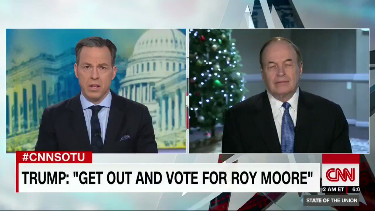 Alabama Sen. Richard Shelby says he 'couldn't vote for Roy Moore' https://t.co/F0F8j4gUCd https://t.co/bQiCPjAiVH
