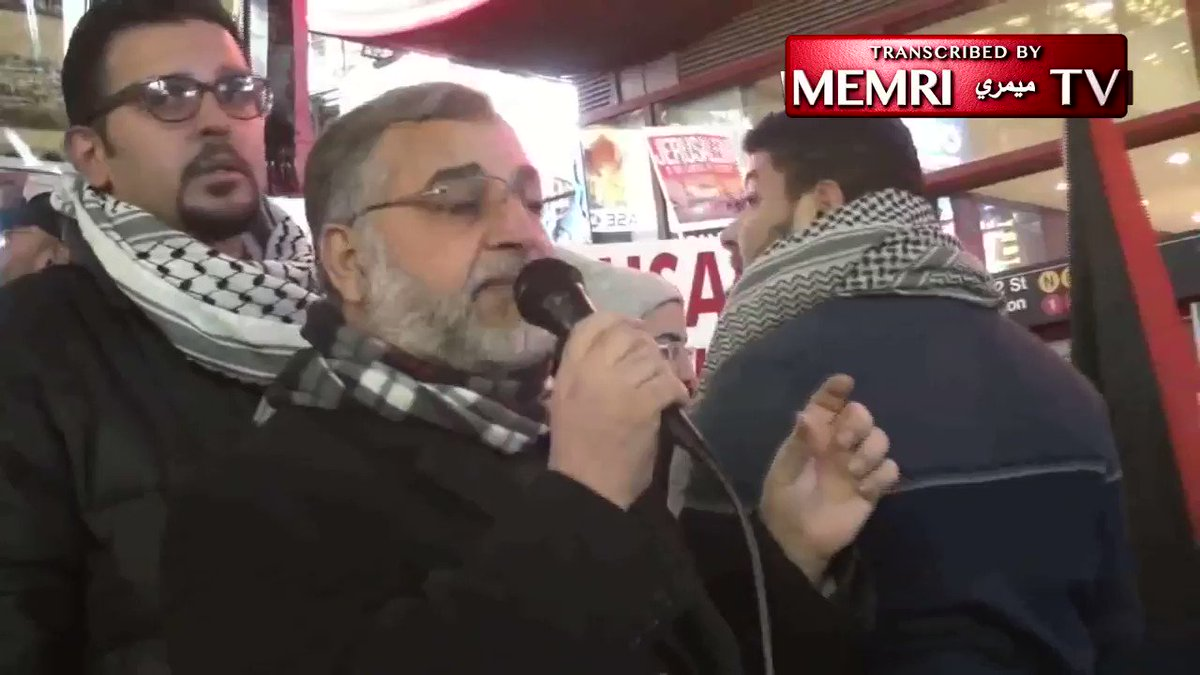 Video  Muslims called for a ne intifada
