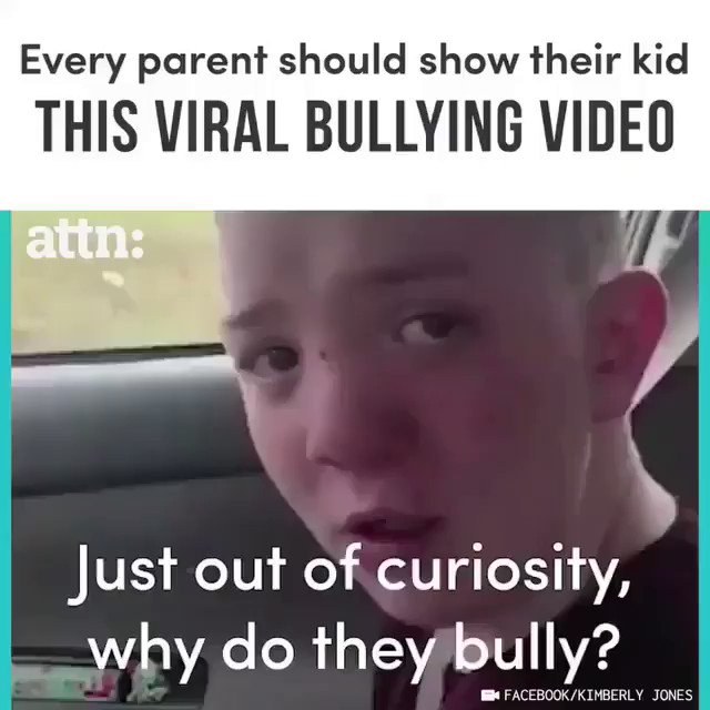 You are so smart kid and brave and deserve the world!! Bullying must stop right now!! https://t.co/DRKCHAVwmU