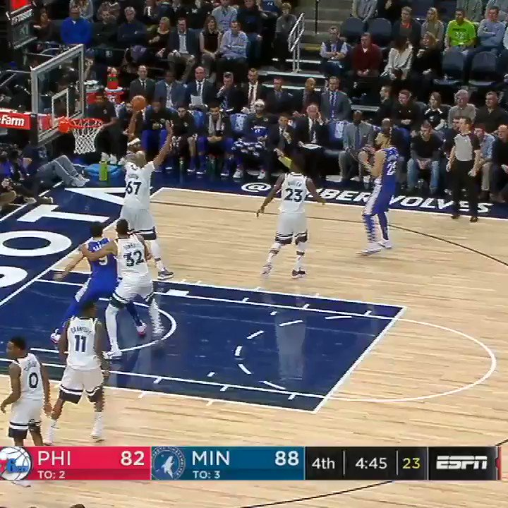 Trust the Euro step. https://t.co/yTcxmb5Imj