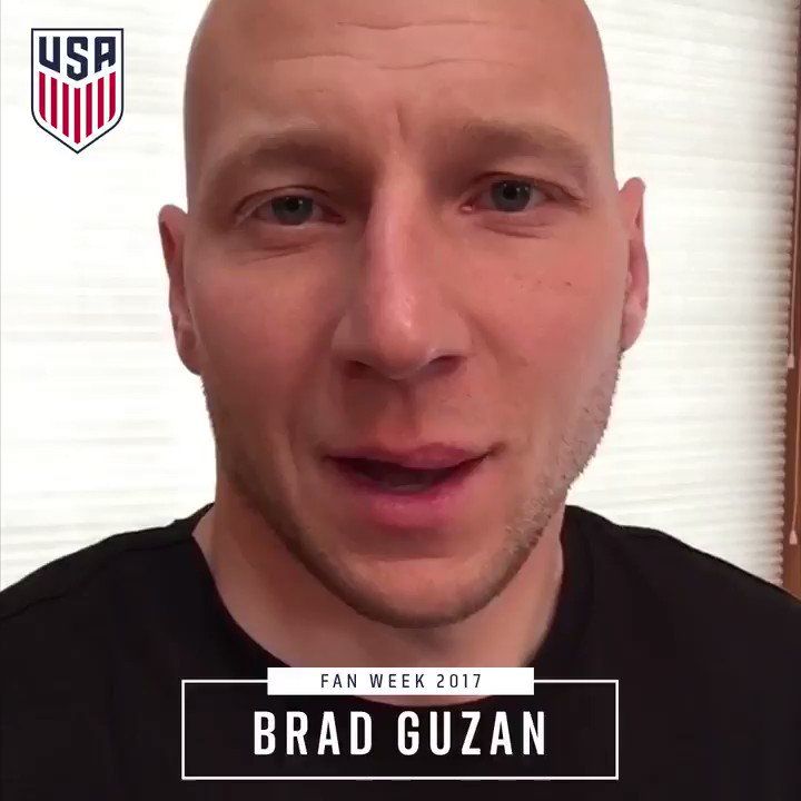 RT @ussoccer_mnt: Through ⬆️ and ⬇️, we thank you. 🗣@bguzan for #FanWeek2017. https://t.co/esjnVcEZx2