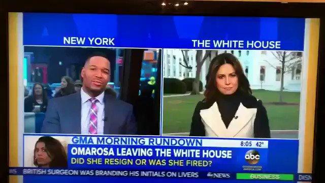 "RT @yashar: Robin Roberts said ""Bye Felicia""to Omarosa. Wow. https://t.co/r1u9sD0Qli"
