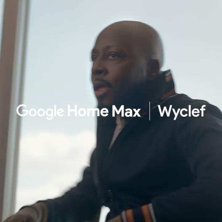 Google Home Max has the sound. I got the moves ???????????? @Google #ad https://t.co/rLflzLJCW8