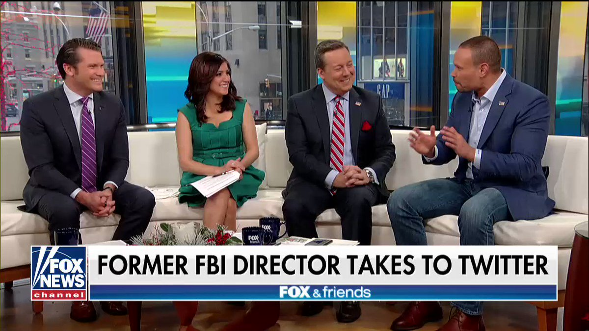 .@dbongino: 'I'm just thankful that Jim Comey is gone... At a minimum, what he did tarnished the image of the FBI.' https://t.co/PyzkfXLSKN