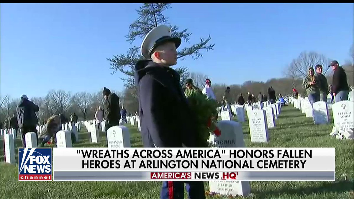 'Wreaths Across America' Honors Fallen Heroes at Arlington National Cemetery https://t.co/Pw9EMhKS5b