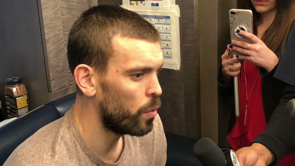 Marc Gasol post game part 1 https://t.co/WdsbfiSMie