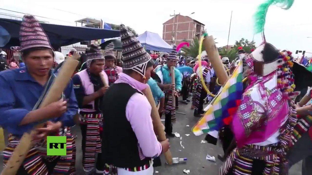 Bolivien: Tausende feiern Revolution und 12. Jahrestag der Wahl von Morales