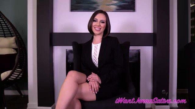 Horny Latina Jenna Sativa puling down her panties to masturbate her wet crotch  1549710