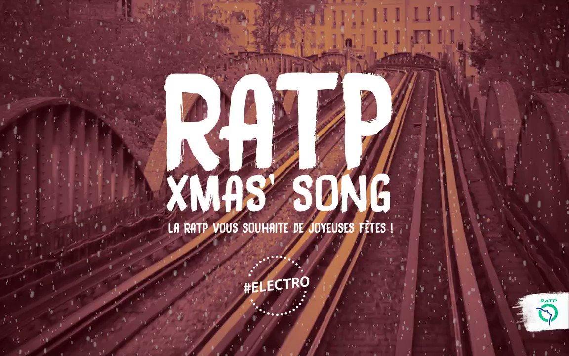 Voici notre seconde #RATPXmasSong 🎄  Fan de basses et de sonorités #electro, vous allez adorer celle-ci 🎁 À vos 🎧 et passez de Joyeuses Fêtes ✨ https://t.co/yvQffgLzMY