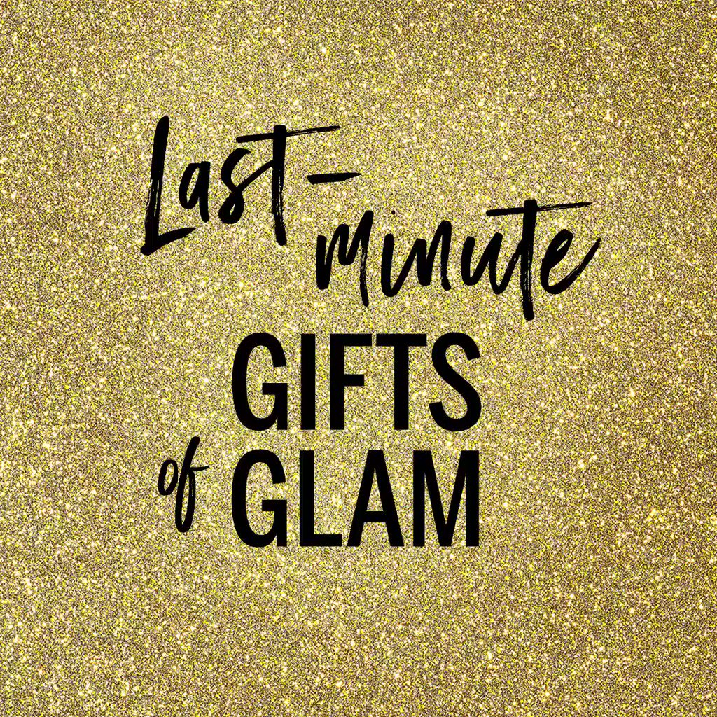Still need a gift? Go to a store to get glam. #GiftLikeAnAngel https://t.co/PJhHz0DNLt https://t.co/E3ZuXGlpVV