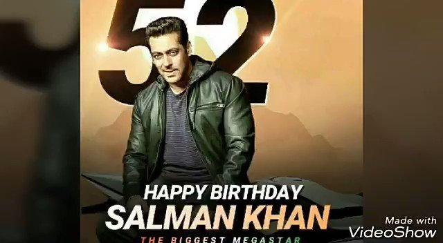 Happy Birthday to the biggest Superstar Salman Khan