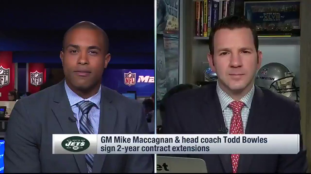 Two coaches who are staying: #Jets coach Todd Bowles and #Redskins coach Jay Gruden. Why? We'll tell you. https://t.co/qEfhkqRi89
