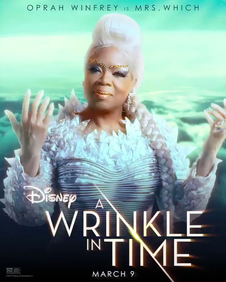 RT @Oprah: Mrs. Which has created a #WrinkleInTime ✨ Welcome to 2018, warriors. https://t.co/BCeiJOIJB5