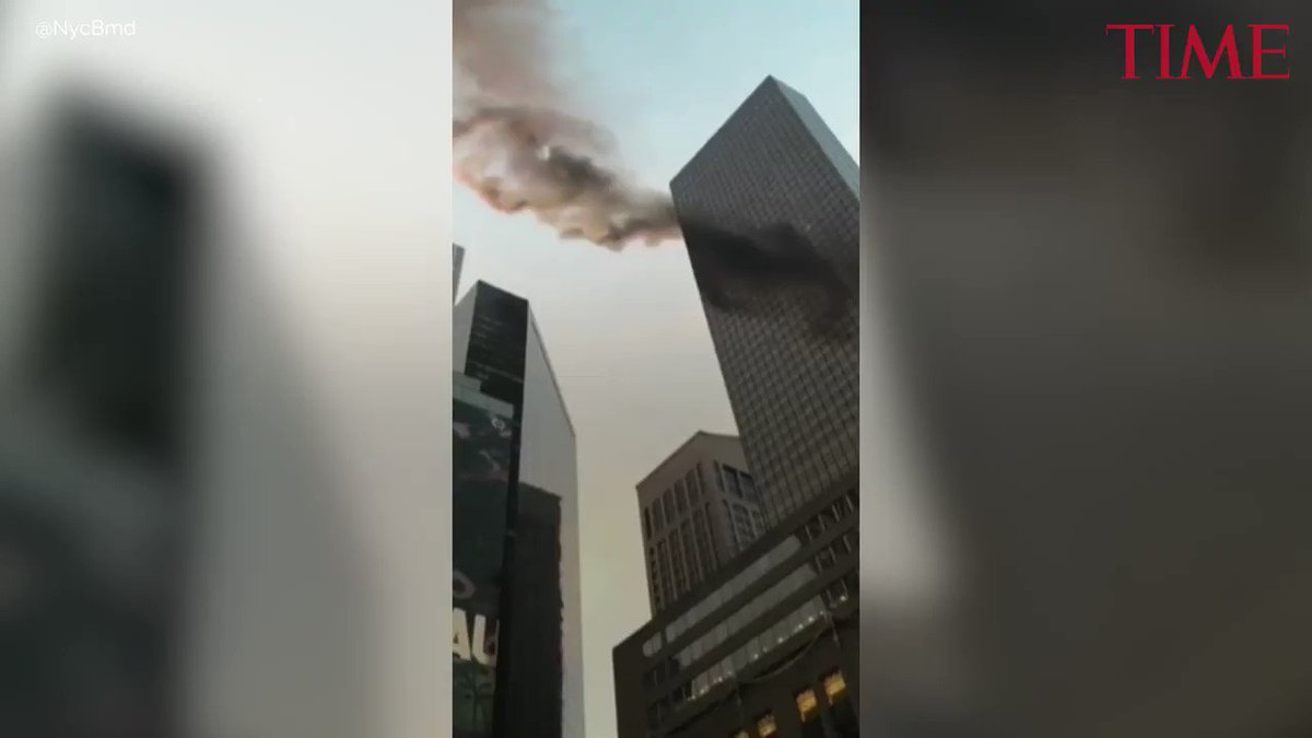 2 people were injured when a fire broke out at Trump Tower https://t.co/HvUxuF5Nda https://t.co/hg5gqnHQRP