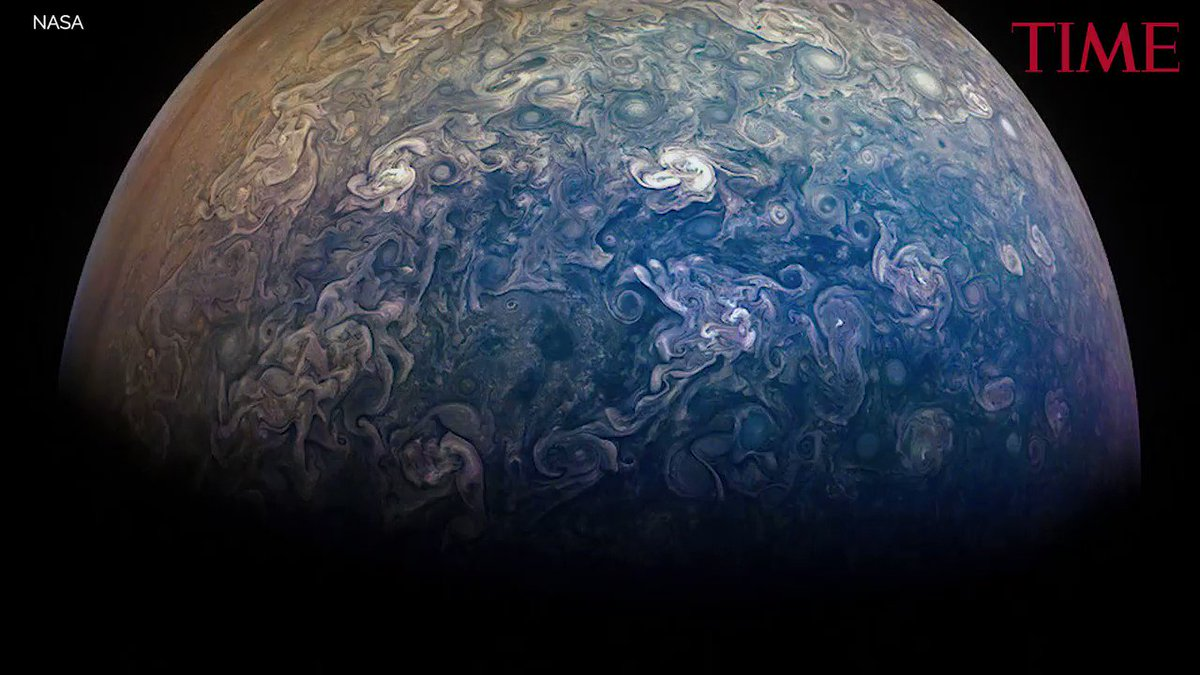 See Jupiter looking downright gorgeous in these new NASA photos https://t.co/WX7Zmj2wWT https://t.co/N6lHBpKE3H