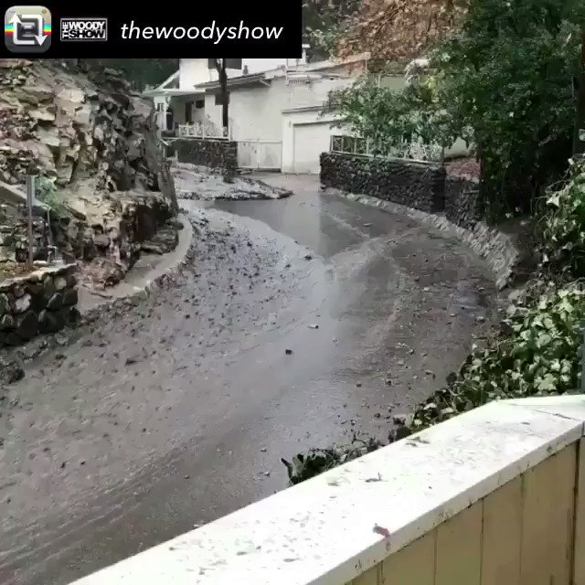 RT @SRobertsKRON4: Meanwhile in Burbank...  #Flashfloods are no joke! https://t.co/H7kZfQpgn3
