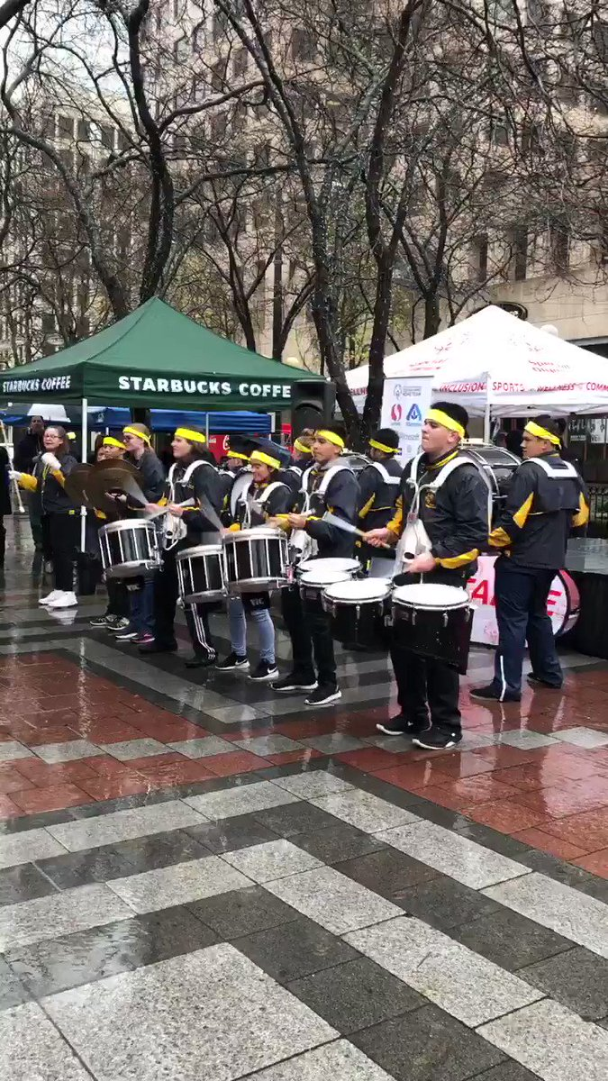 RT @2018USAGames: The Mariner High School drumline kicking off the excitement of the HOME TEAM! @SO_Washington https://t.co/dAWJwUdTAO