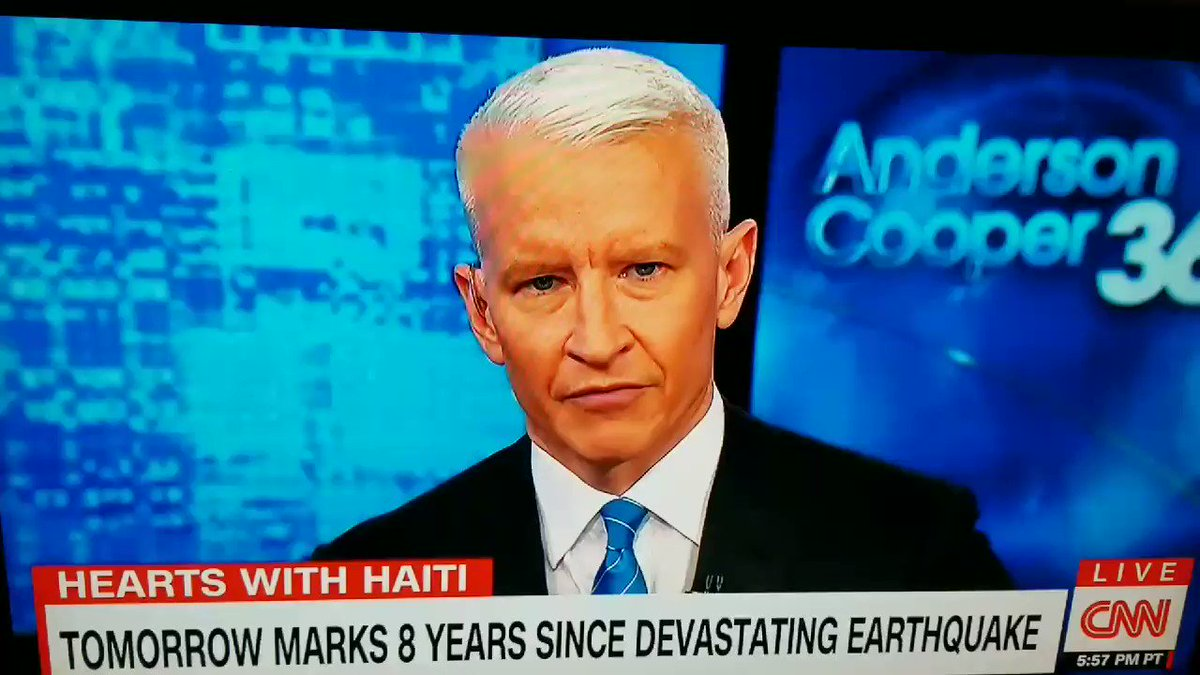 Thank You Anderson Cooper! #Haitistrong https://t.co/THmz7d36GG