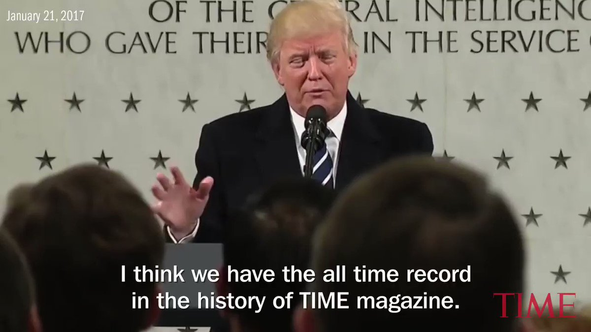 Donald Trump and the TIME cover: An animated history