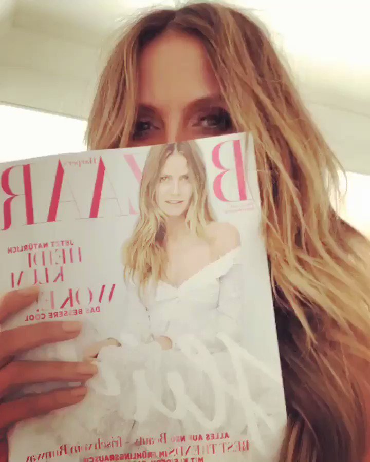 YAYYYYYY .... finally i got my copy of @harpersbazaargermany ????!! Did you get yours ? https://t.co/LDGirDabaB