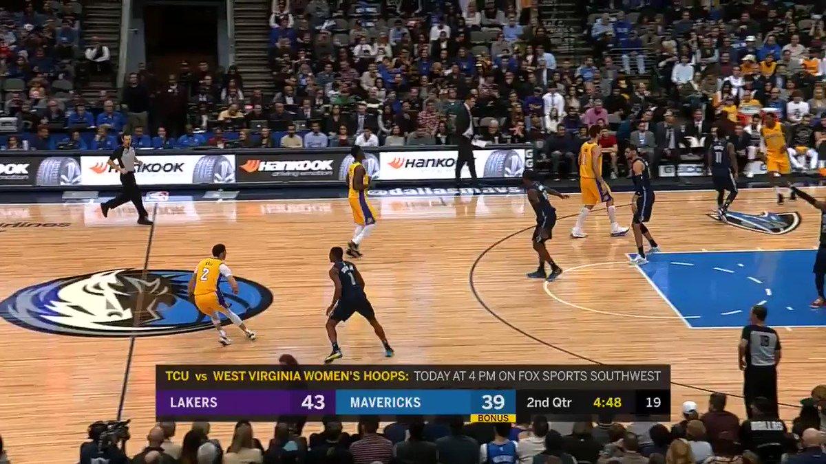 RT @dallasmavs: DENNIS SMITH JR. LADIES AND GENTLEMEN! #NBAVote #DALvsLAL https://t.co/yq0EAb9Dc4