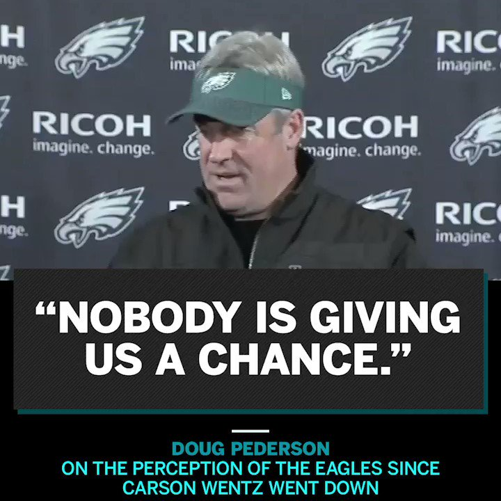 The Eagles hear the doubts.  And they'll take their win. https://t.co/IjnvOCRTle