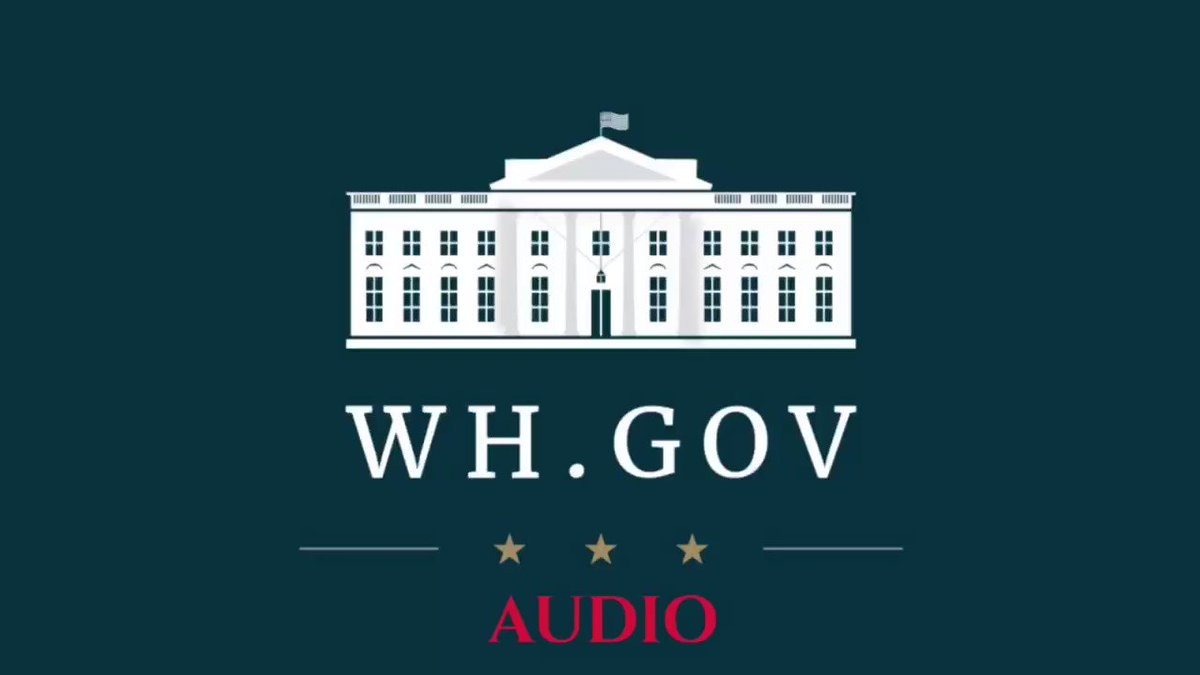 Here is the official audio showing WSJ misquoting @POTUS https://t.co/wVwoafYkHg