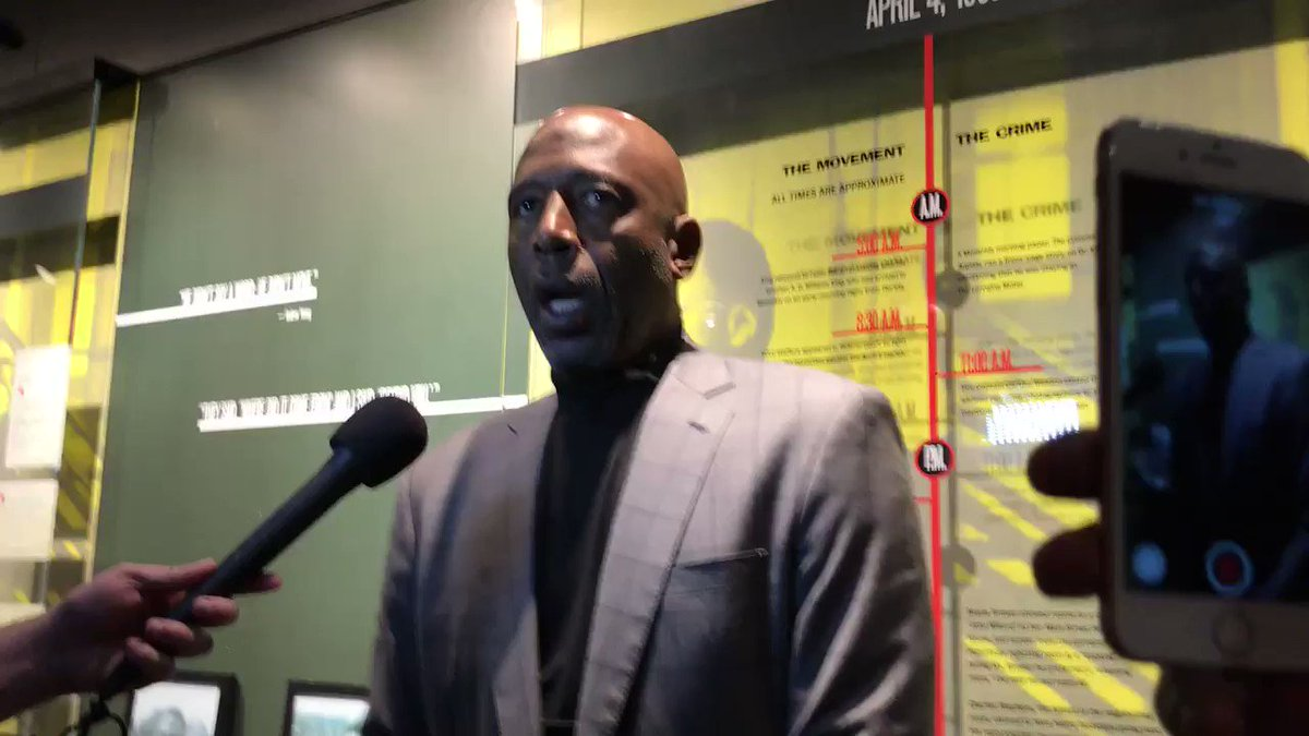 .@JamesWorthy42 talks about being in Memphis & experiencing the @NCRMuseum for the first time. #MLK50 #MLKDay2018 https://t.co/SmL9MSTNv7