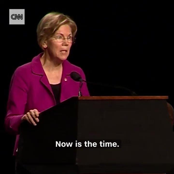 "Sen. Elizabeth Warren called President Trump a ""racist bully"" at an #MLKDay event in Boston https://t.co/PxKZqduK6a https://t.co/Nw6grBLPfV"