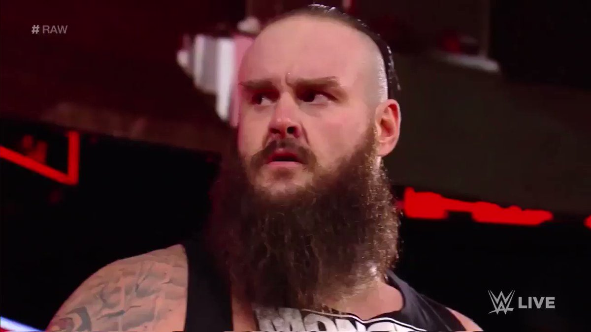 #BraunStrowman is Back In  The Triple Threat Universal Title Match After Rehired  By #StephanieMcMahon  #RAW {15th Jan, 2018} https://t.co/Zg0N0Jiw73