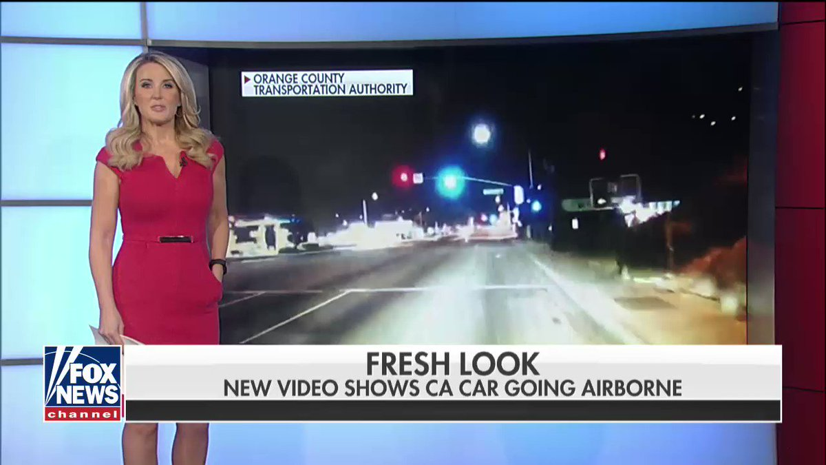 New Video Shows CA Car Going Airborne https://t.co/i75WNixIEK https://t.co/4y6fayXt26