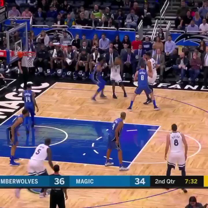 Arron Afflalo's haymaker came VERY close to connecting with Nemanja Bjelica. https://t.co/ggQsb4ROz7