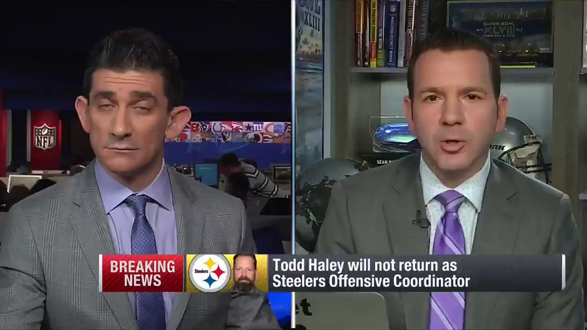From our Championship Wednesday coverage: #Steelers OC Todd Haley is out. Pittsburgh needs a new play-caller. https://t.co/MekJLCPisV