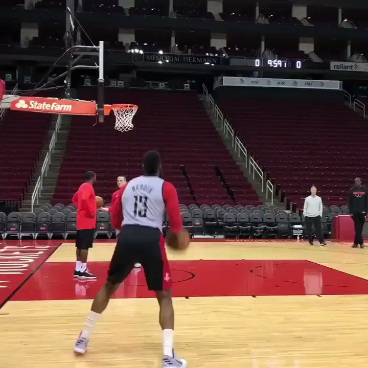 You will not see one miss in this video (via @HoustonRockets) https://t.co/NHOgs2rT8k