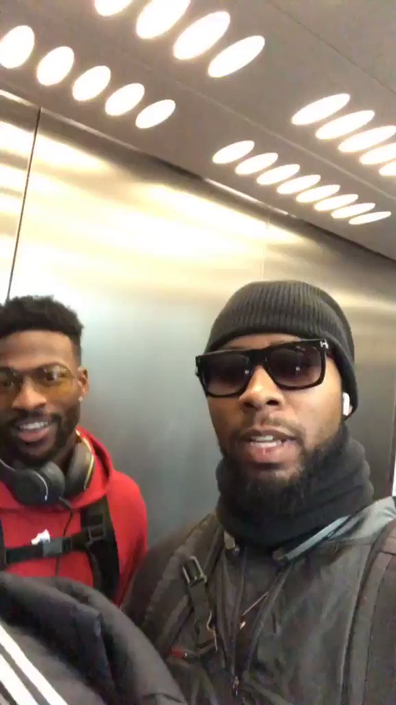 Safe trip home to 🇺🇸, @J_No24 & @ESanders_10 👋  Hopefully see you both back in 🇬🇧 soon! https://t.co/caF5NWXXt6