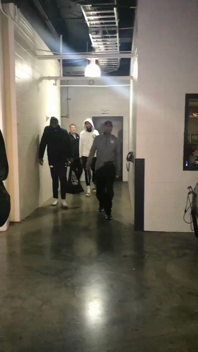 Big fella's back in the building! https://t.co/doDYMTjrIs