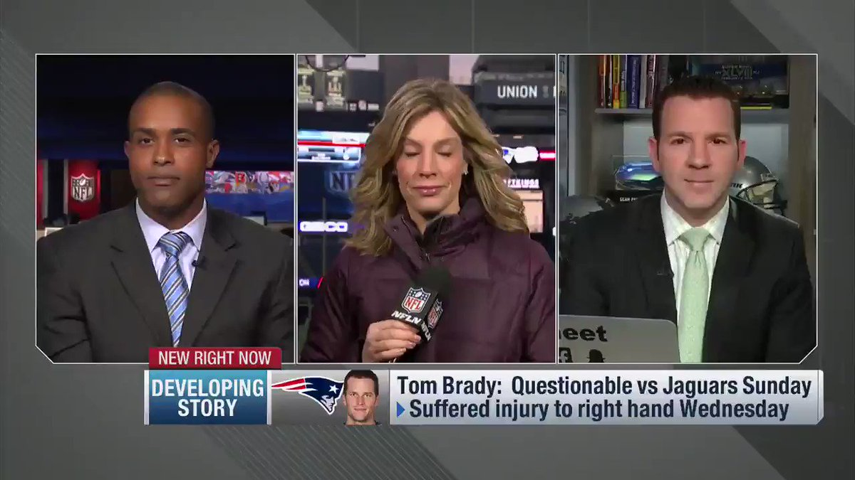 From Up to the Minute Live: The latest on #Patriots QB Tom Brady, his bloody thumb, and how he looked. https://t.co/AYxy6KXUAf