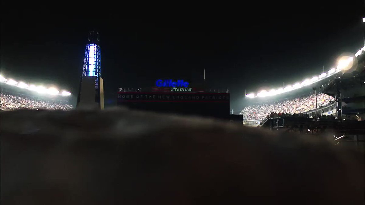 Tomorrow, the @Jaguars & the @Patriots play for a place in the Super Bowl...  This will get you HYPED! 🔥  #NFLPlayoffs | #JAXvsNE https://t.co/i2ZWdLdqP2