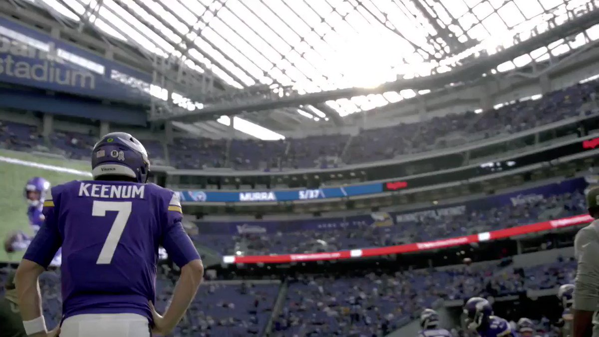 The @Vikings vs the @Eagles for a place at #SBLII 🏆  This is going to be EPIC! 💥 https://t.co/gHYOj4ybAs