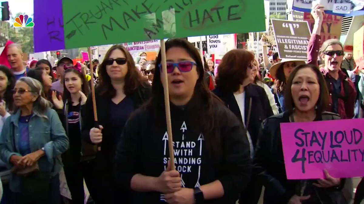 Are you going to today's #WomensMarch in downtown LA? Here's what you need to know: https://t.co/2JPopK9YLb https://t.co/mqD9WE49kl
