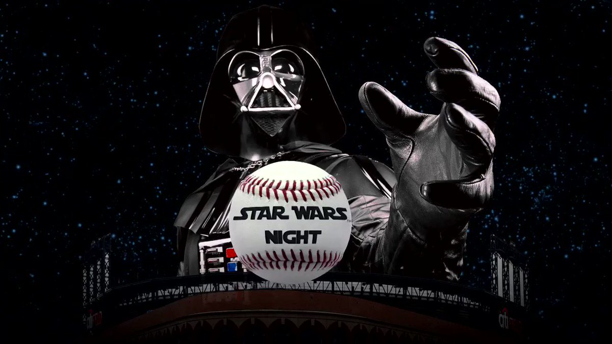 A galaxy far, far away...Just got a lot closer. Join the fun of #StarWars Night on Sat., May 19. The first 25,000 fans in attendance will get a @MrMet as Han Solo bobblehead presented by @Citi. https://t.co/DwChuy8dzm https://t.co/goLvaLjC55