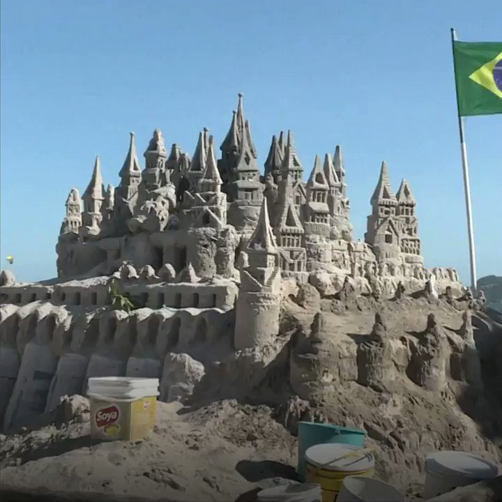The Brazilian man who lives in a sandcastle https://t.co/3qhGDqAPqk