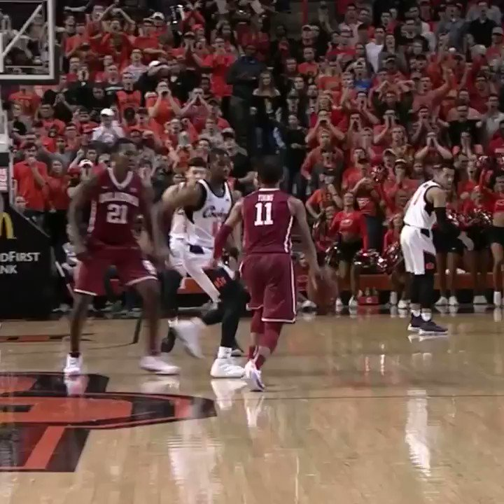 Trae Young with the swish and shush �� https://t.co/F5ZuL0LdZl