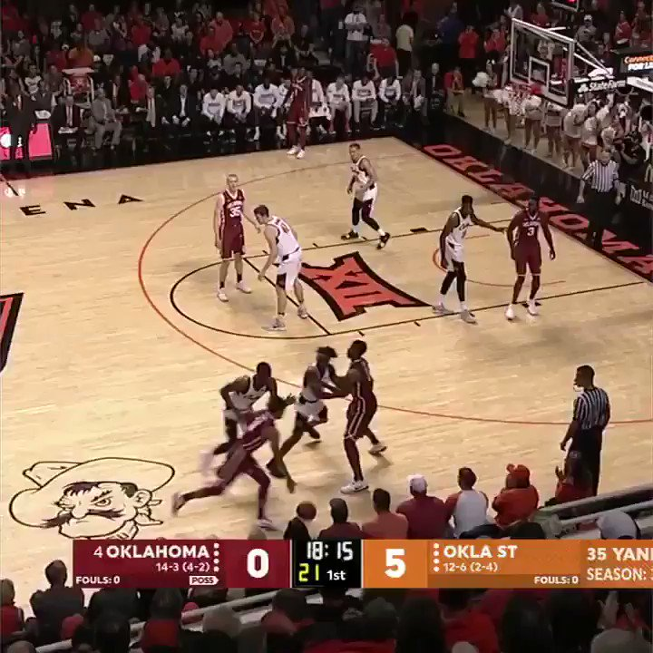 Relive all of Trae Young's buckets in his career-high performance of 48 points vs. Oklahoma State. https://t.co/aCK8X2Wr6o