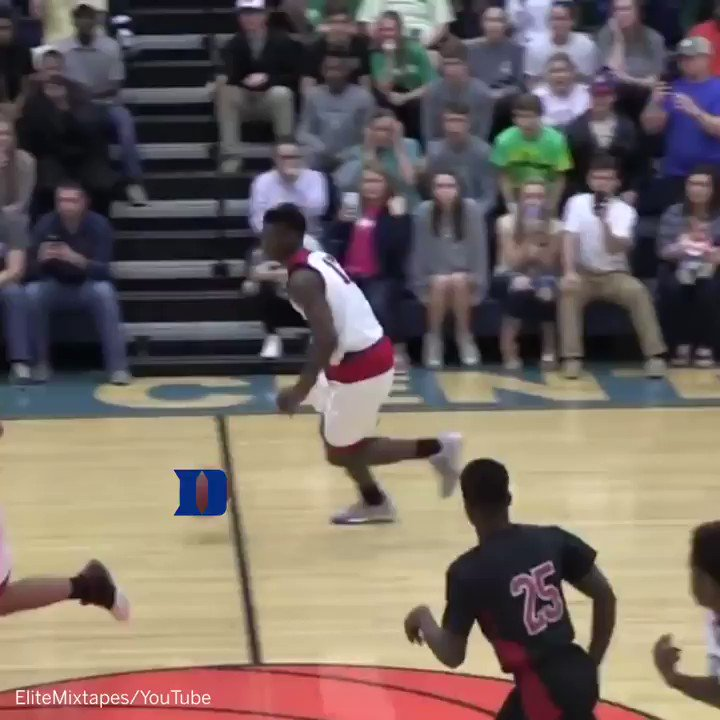 Zion Williamson pledge gives D duke
