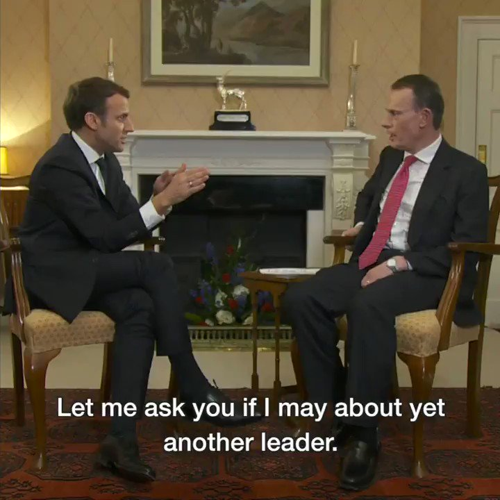 President Trump is not a 'classical politician', French President @EmmanuelMacron tells #Marr https://t.co/MTAoJImqBF